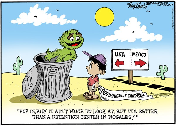 149978 600 Immigrant Kids in Nogales cartoons