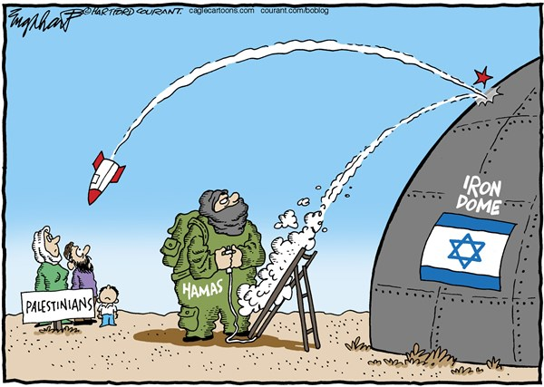 150990 600 Israel Gaza War cartoons