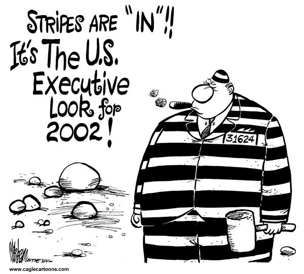 9585 600 CEOs in Stripes cartoons