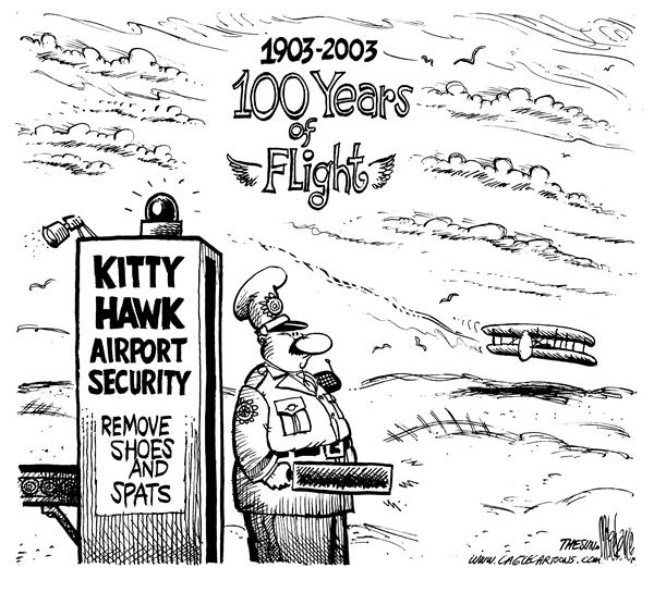 4577 600 Flight Anniversary cartoons