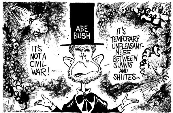 28630 600 Abe Bush cartoons