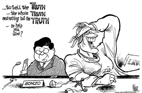 37177 600 Truthtime for Gonzo cartoons