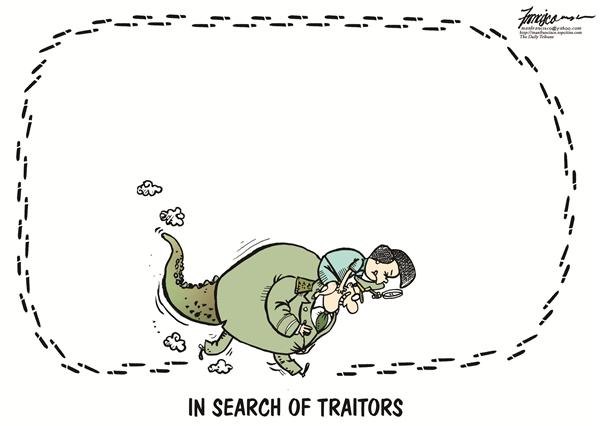 Manny Francisco - Manila, The Phillippines - in search of traitors to the constitution - English - gma gloria arroyo philippine politics afp armed forces of the philippines corruption philippine constitution