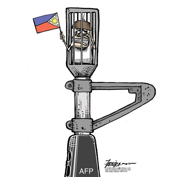 Manny Francisco - Manila, The Phillippines - AFP holds the nation together - English - AFP armed forces of the philippines Philippines philippine politics coup de etat