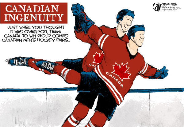 Cardow - The Ottawa Citizen - CANADA Hockey pairs - English - Canada, hockey, Olympics, skating, pairs, figure, skating