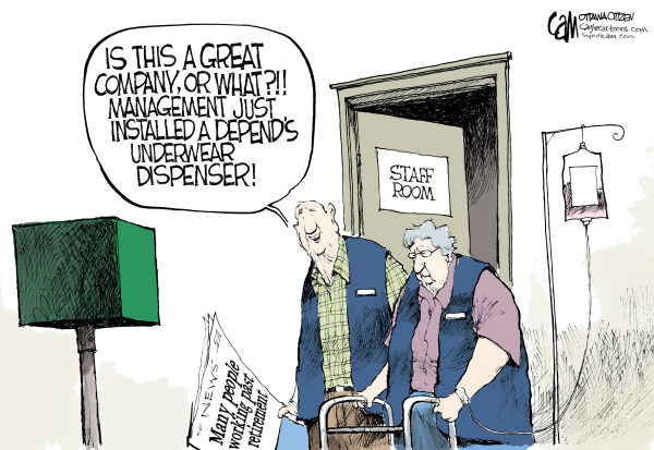 87719 600 Retirement cartoons