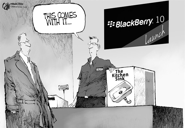 Cardow - The Ottawa Citizen - Blackberry 10 - English - Blackberry, 10, cellphone, mobile, operating, system, os, apps