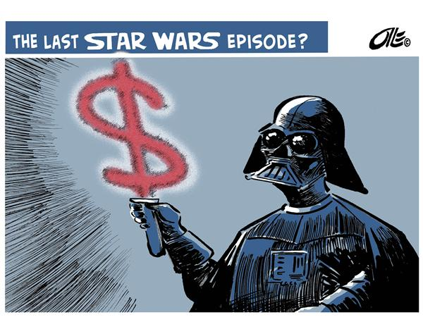 15817 600 STAR WARS PROFITS cartoons