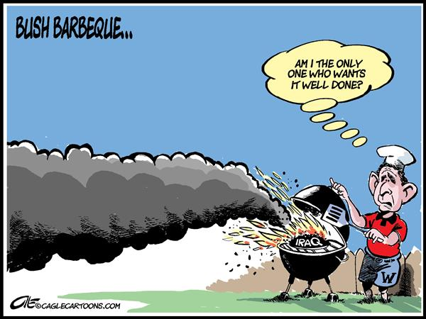28433 600 Bush Barbeque cartoons