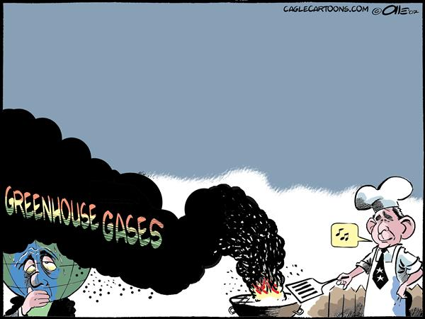 36857 600 GREENHOUSE GASES cartoons