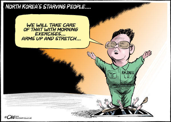 77034 600 North Koreas Starving People cartoons