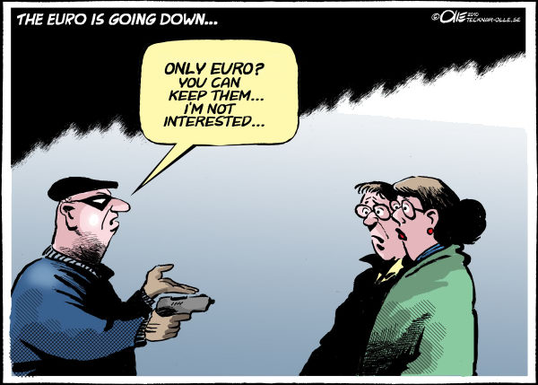 78369 600 The Euro going down cartoons