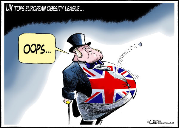 Olle Johansson - Sweden - Obesity league - English - UK, adults, obese, Fat, Europe, new, report, reveals, rates, John Bull, worst, According, Health at a Glance, European, Commission, Health, overweight, Britain