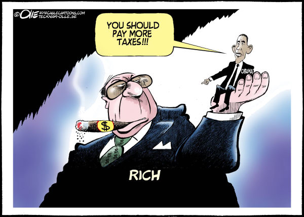 Olle Johansson - Sweden - More Taxes - English - Rich, USA, Taxes Barack, Obama, Pay, Poor,