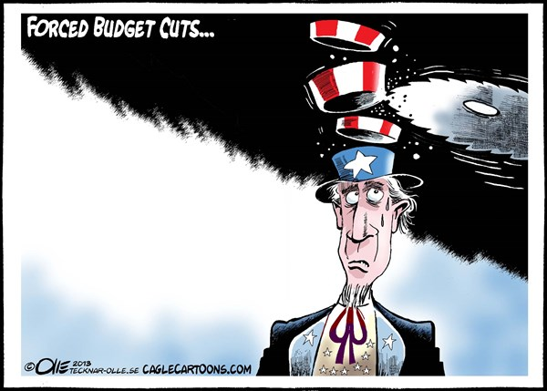 Olle Johansson - Sweden - Forced Budget Cuts - English - USA,  Economy , Budget,  Cuts,  Uncle,  Sam