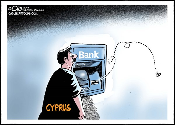 Financial Crisis © Olle Johansson,Sweden,Cyprys,financial,problem,bank,money,Europe,,cyprus bank