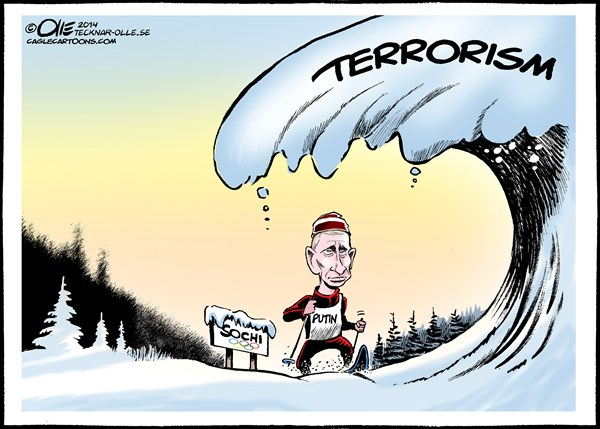 Olle Johansson - Sweden - Olympic games avalanche - English - Russia, Terrorism, Putin, Danger, threats, Olympic games, Snow, winter