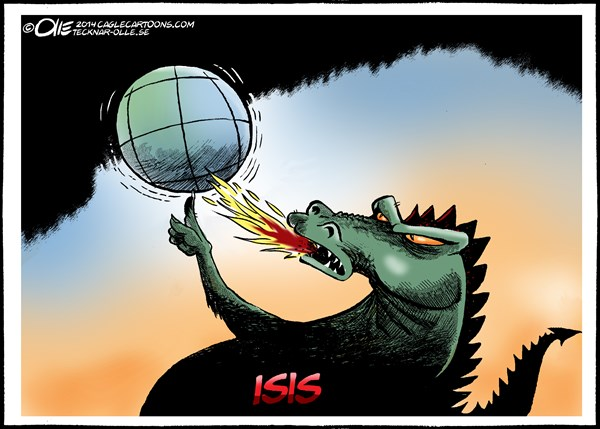 152850 600 The Fire of ISIS cartoons