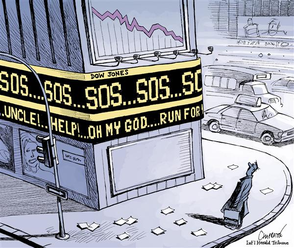 56267 600 Stock market panic cartoons
