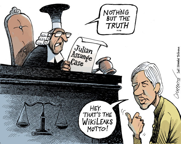 112784 600 Julian Assange Faces Justice cartoons