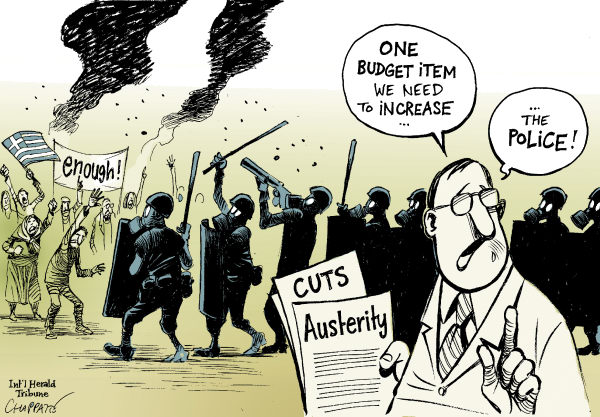 119441 600 ANTI AUSTERITY Protests in Europe cartoons