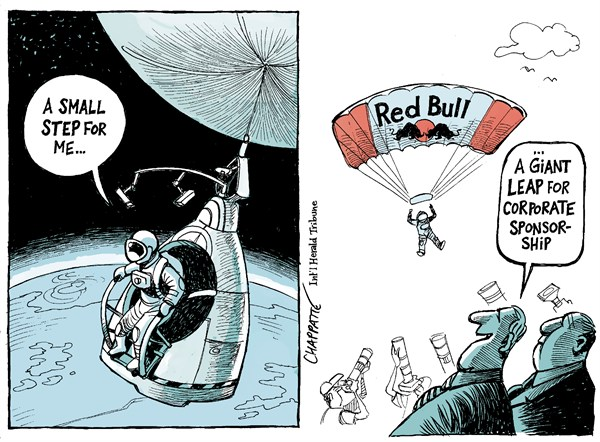 120603 600 Skydiver Breaks The Sound Barrier cartoons