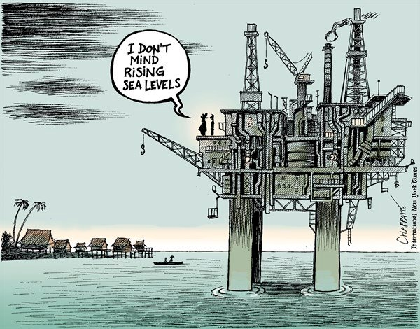 154107 600 Oil industry and climate change cartoons