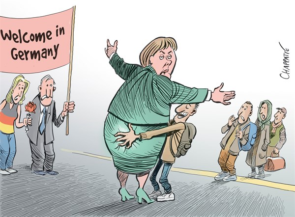 Patrick Chappatte - NZZ am Sonntag - Cologne Assaults - English - Germany