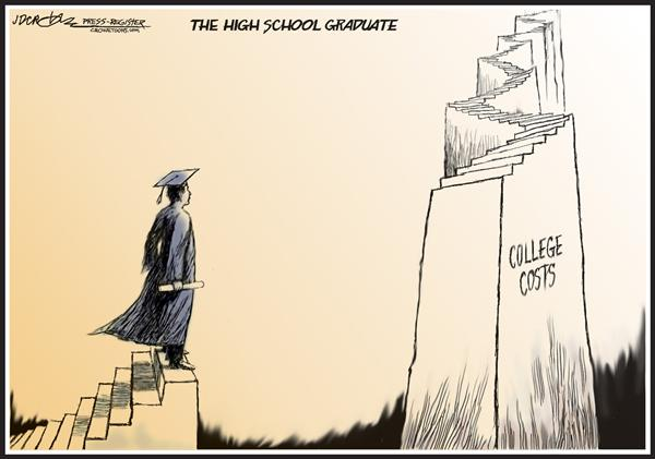 50959 600 College costs cartoons