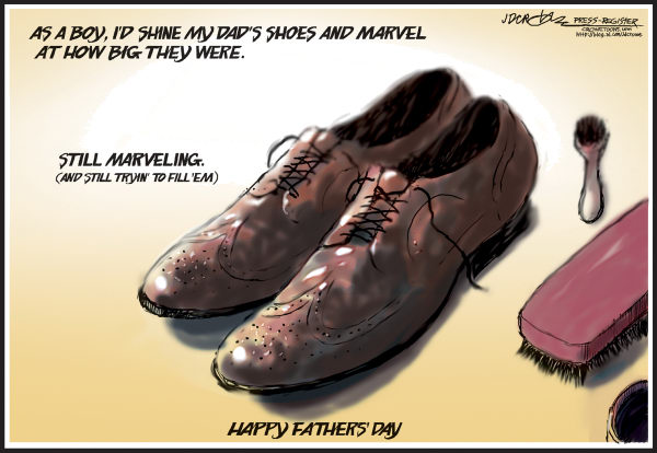94455 600 Fathers Day Shoes cartoons