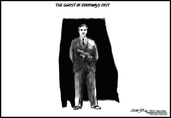 101953 600 Ghost of George Wallace cartoons