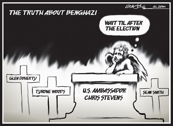 J.D. Crowe - Mobile Register - The truth about Benghazi - English - Benghazi, Libya attack, US Ambassador Chris Stevens