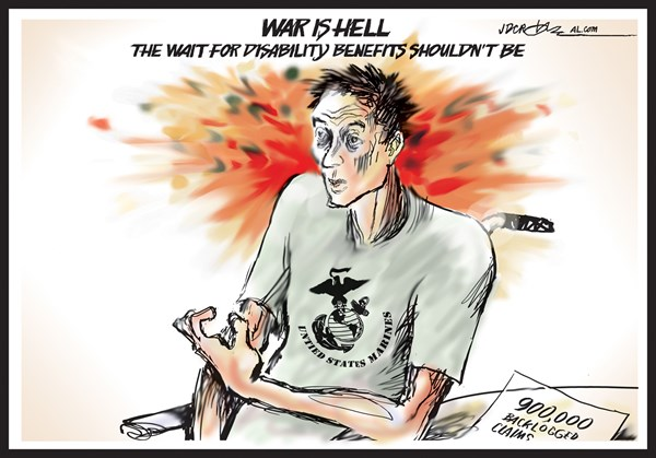 131129 600 War is hell for disabled vets cartoons