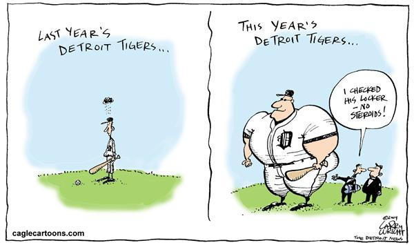 Larry Wright - The Detroit News - LOCAL MI COLOR; The new Tigers - English - baseball Detroit Tigers