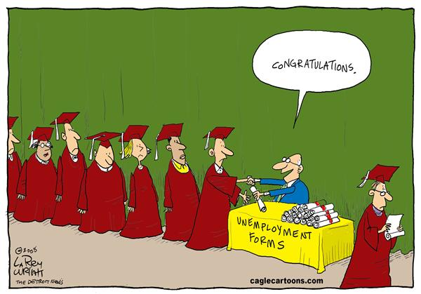 51617 600 Jobless Degrees cartoons