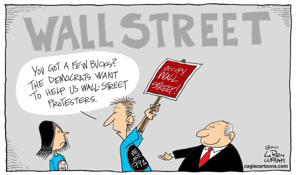 COLOR Wall Street Jam © Larry Wright,The Detroit News,Occupy Wall Street, protesters