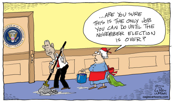 Larry Wright - The Detroit News - COLOR Election Job - English - election, jobs, Obama