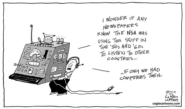 Larry Wright - CagleCartoons.com - NSA Software - English -