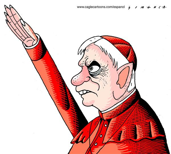 45639 600 The Most Provocative Pope Benedict XVI Cartoons cartoons