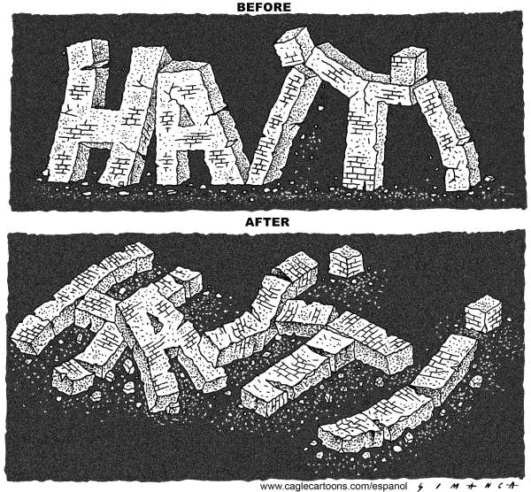 73412 600 Haiti Before and After cartoons