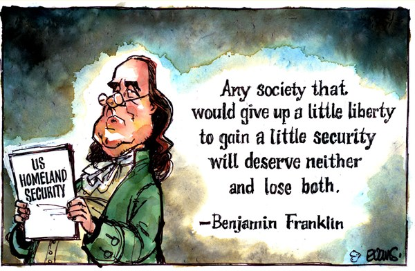Benjamin Franklin © Malcolm Evans,New Zealand,liberty,benjamin franklin,freedom,security,life,happiness