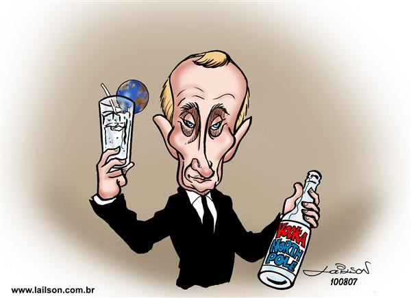 Lailson - Humor World - North Pole Vodka - English - Russia,Putin,North,Pole,North Pole,vodka