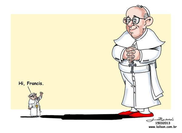 Lailson - Humor World - Hello Pope Francis - English - 		Pope,Papa,Bento,Benedict,Benedicto,Francisco,Francis