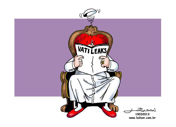 Lailson - Humor World - Pope Francis reads the Vatileaks - English - Pope Francis, Papa Francisco,Papa Francesco, Vatican, Vaticano, Vatileaks, Catholic Church