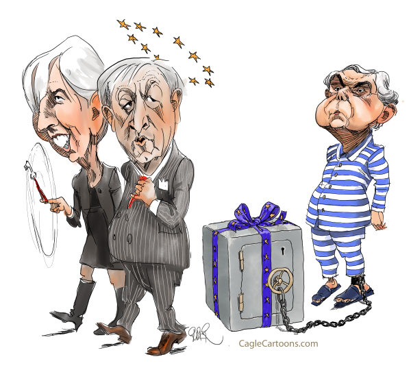 Riber Hansson - Sweden - IMF and EU delivering Bailout packages to Greece - English - Greece bailout, IMF, EU