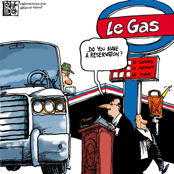 Tab - The Calgary Sun - Le Gas COLOR - English - Gas Prices