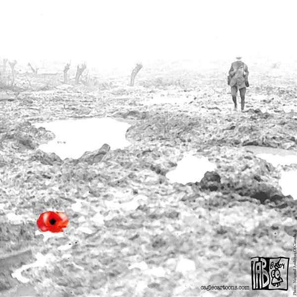 Tab - The Calgary Sun - Veterans Day - English - Canada Remembrance Day