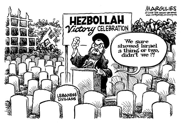 29624 600 Hezbollah Victory Celebrations cartoons