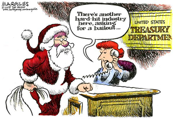 Christmas and the economy © Jimmy Margulies,The Record of Hackensack, NJ,Christmas season, Economy, Recession, Christmas shopping, Consumer spending, Retail spending