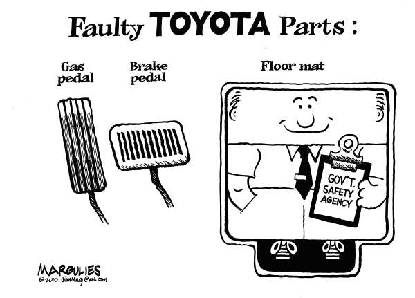 75165 600 Faulty Toyota parts cartoons